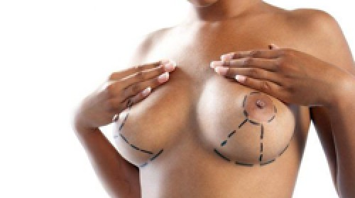douche massage borst